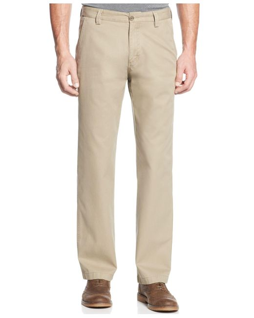 Cutter & Buck | Brown Big And Tall Men's Beckett Flat-front Pants for Men | Lyst