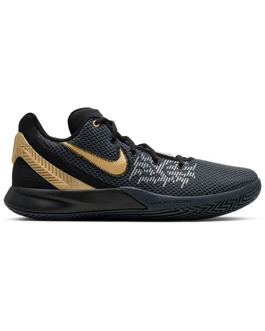 2bda326a9b77 Nike - Black Kyrie Flytrap Ii Basketball Sneakers From Finish Line for Men  - Lyst ...