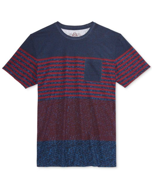 American Rag | Blue Men's Seasonal Stripe T-shirt, Only At Macy's for Men | Lyst