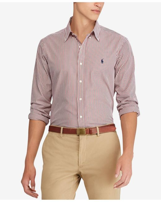 Polo Ralph Lauren - Multicolor Standard Fit Short-sleeve Shirt for Men - Lyst