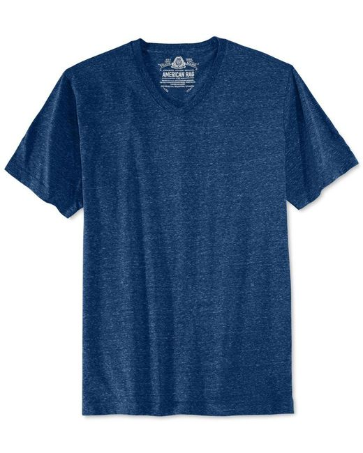 American Rag | Blue Men's Tri-blend T-shirt, Only At Macy's for Men | Lyst