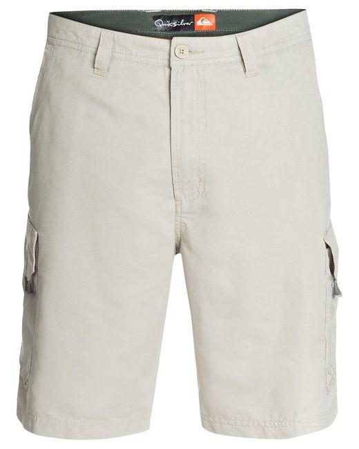 Quiksilver   Gray Waterman Men's Maldive Cargo Shorts for Men   Lyst