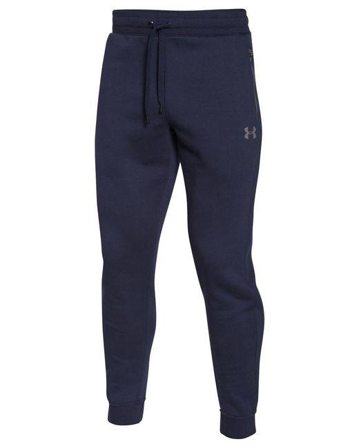 Under Armour | Blue Men's Soho Fleece Joggers for Men | Lyst