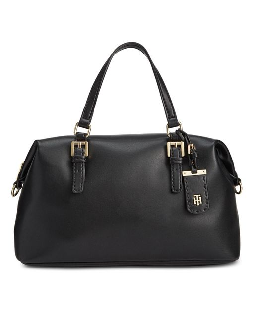 Tommy Hilfiger - Black Julia Satchel - Lyst