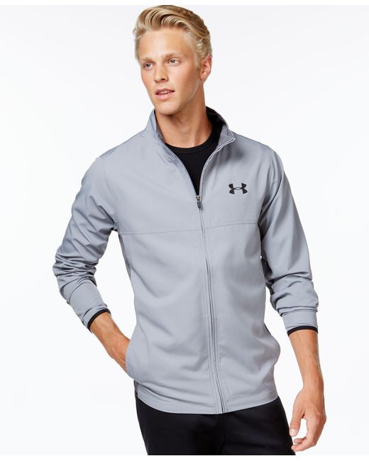 Under Armour | Gray Men's Vital Full-zip Wind-resistant Jacket for Men | Lyst