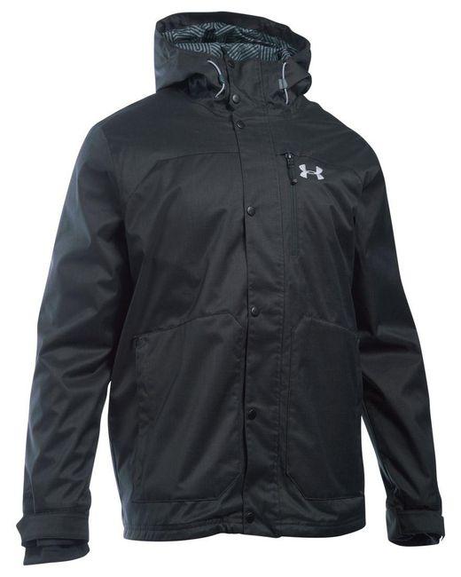 Under Armour | Black Men's Coldgear Porter Jacket for Men | Lyst