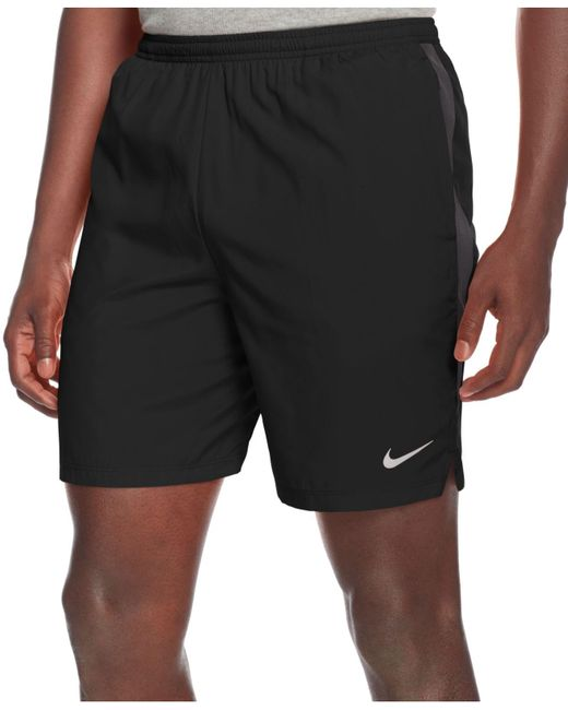 "Nike | Black 7"" Dri-fit Challenger Shorts for Men 