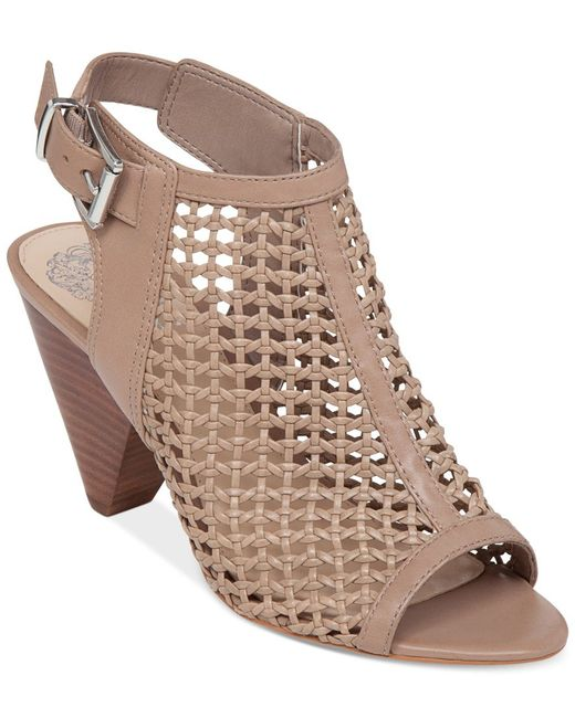 Vince Camuto | Brown Emilla Dress Sandals | Lyst