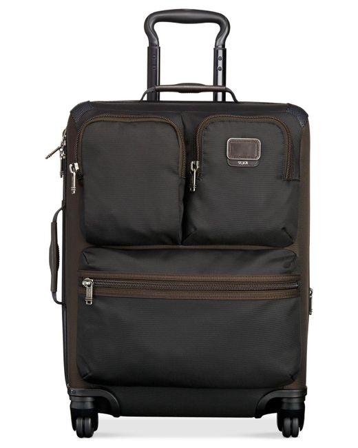"Tumi | Black Alpha Bravo Kirtland Continental 22"" Carry-on Expandable Suitcase | Lyst"