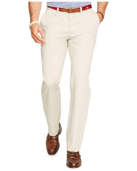 Polo Ralph Lauren   Natural Relaxed-fit Hudson-tan Suffield Pants for Men   Lyst