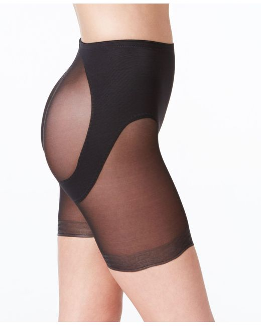 Miraclesuit | Black Shapewear Extra Firm Control Rear Lifting Boy Shorts 2776 | Lyst