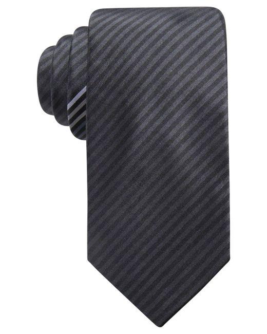 Alfani - Black Men's Stripe Slim Silk Tie, Created For Macy's for Men - Lyst