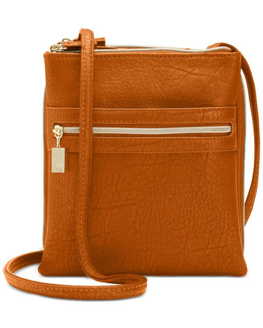 Style & Co. | Brown Organizer Crossbody | Lyst