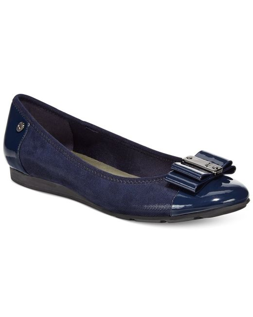 Anne Klein | Blue Sport Aricia Flats, A Macy's Exclusive Style | Lyst