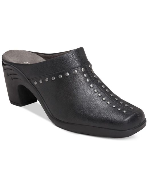 Aerosoles | Black Apple Sawce Studded Mules, Only At Macy's | Lyst