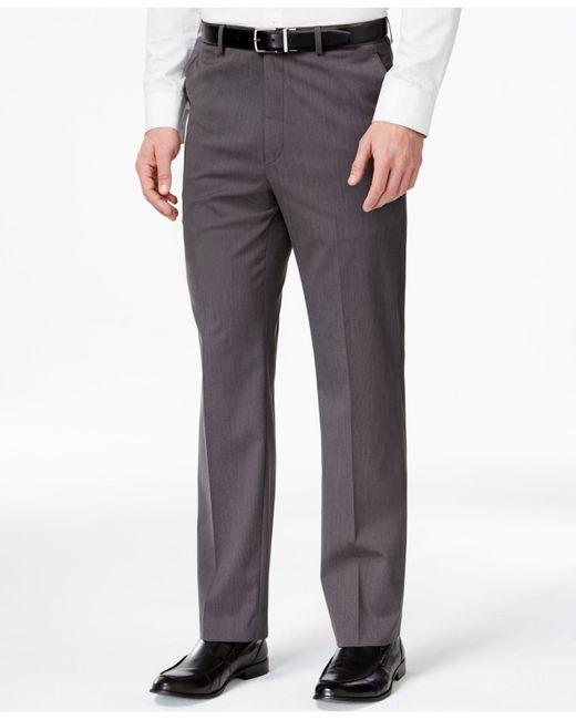 Michael Kors | Gray Charcoal Tic Pants for Men | Lyst