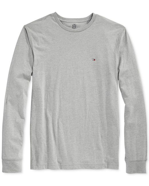 Tommy Hilfiger   White Eric Long-sleeve T-shirt for Men   Lyst