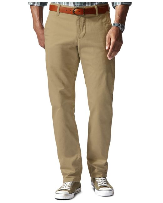 Dockers | Natural Slim-tapered Alpha Athletic-fit Pants for Men | Lyst