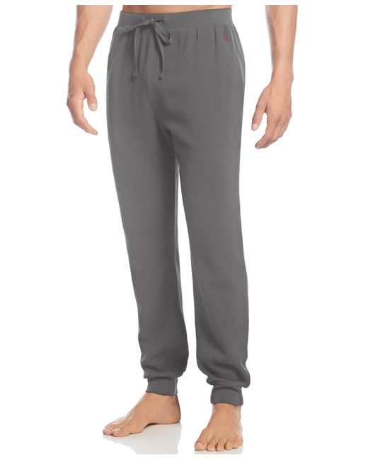 Polo Ralph Lauren   Gray Men's Loungewear, Thermal Jogger Pants for Men   Lyst
