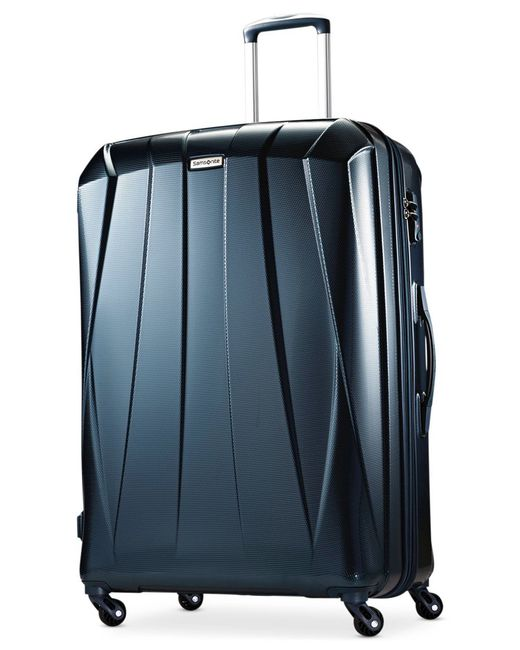 "Samsonite | Blue Vibratta 29"" Hardside Spinner Suitcase, Only At Macy's | Lyst"