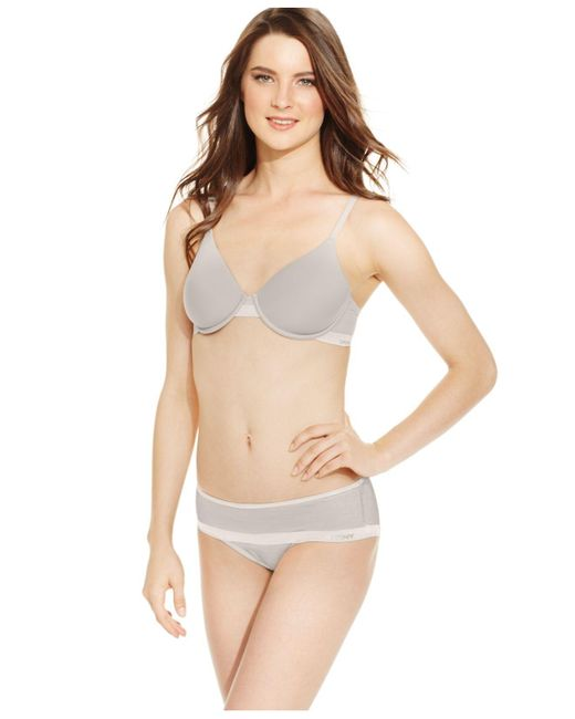 DKNY | Gray Modern Lights Sheers Spacer Bra Dk1001 | Lyst