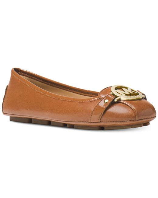 Michael Kors - Brown Fulton Leather Moccasin - Lyst