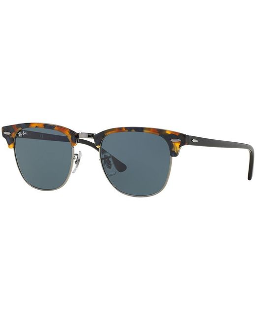 Ray-Ban | Brown Sunglasses, Rb3016 51 Clubmaster Fleck | Lyst