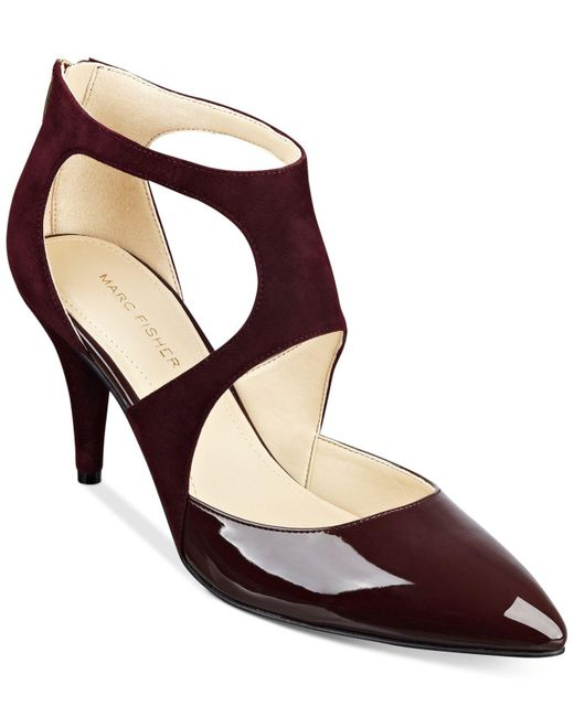 Marc Fisher | Red Kabriele Pumps | Lyst