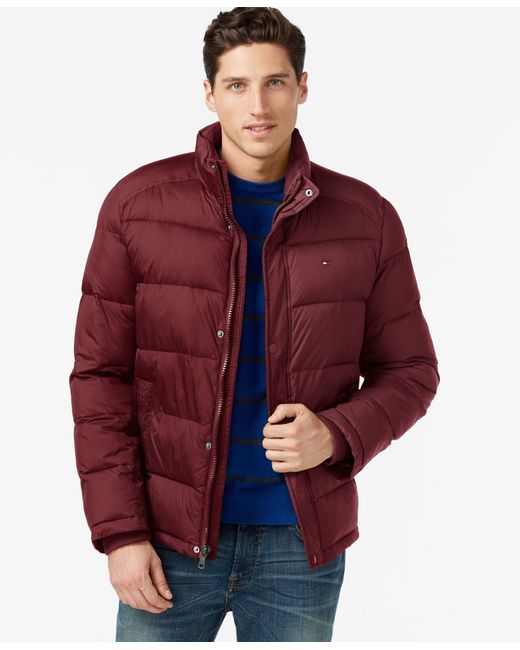 Tommy Hilfiger | Red Classic Puffer Jacket for Men | Lyst