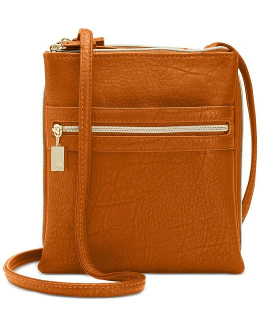 Style & Co. | Brown Organizer Crossbody, Only At Macy's | Lyst