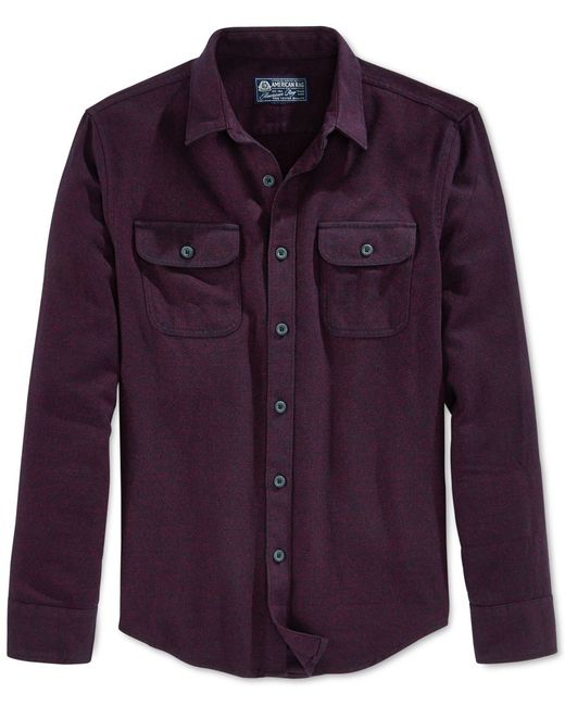 American Rag | Red Men's Long-sleeve Shirt, Only At Macy's for Men | Lyst