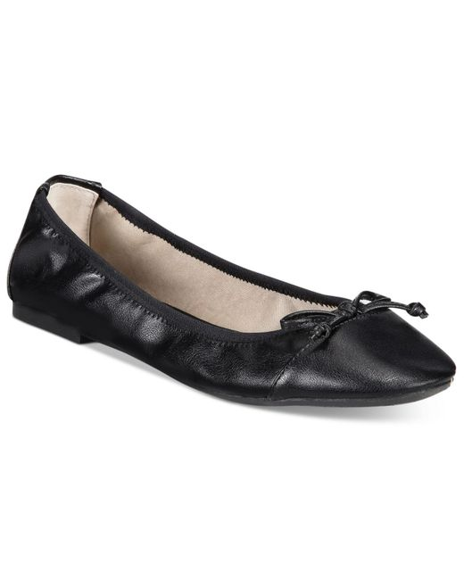Rialto | Black Sunshine Stretch Flats, Only At Macy's | Lyst