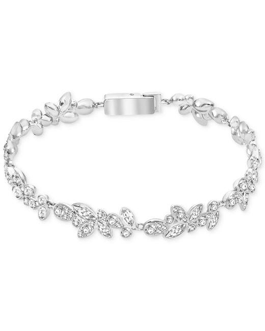 Swarovski | Metallic Silver-tone Multi-crystal Bracelet | Lyst