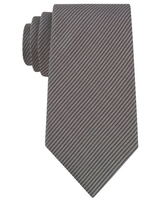 Kenneth Cole Reaction | Brown Two-color Micro Tie for Men | Lyst