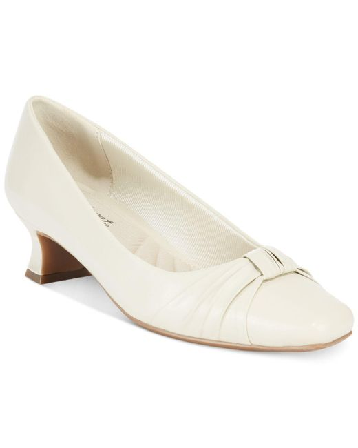 Easy Street - White Waive Pumps - Lyst