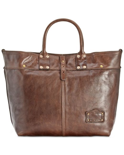Patricia Nash | Brown Men's Milano Leather Tote | Lyst