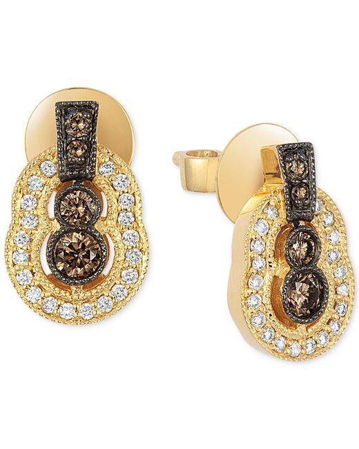 Le Vian | Metallic Diamond Drop Earrings (3/8 Ct. T.w.) In 14k Gold | Lyst