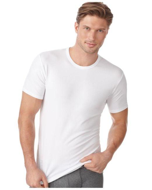 Calvin Klein   White Men's Cotton Stretch Crew-neck T-shirt 2-pack for Men   Lyst