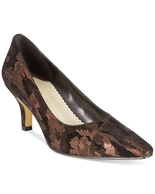 Bella Vita | Metallic Wow Pumps | Lyst