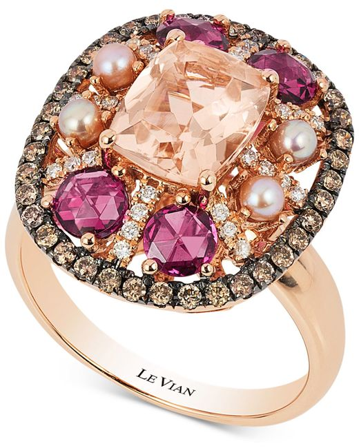 Le Vian | Metallic Chocolatier® Chocolate Deco Estate™ Gold Diamond (1-1/4 Ct. T.w.) Ring In 14k Gold | Lyst