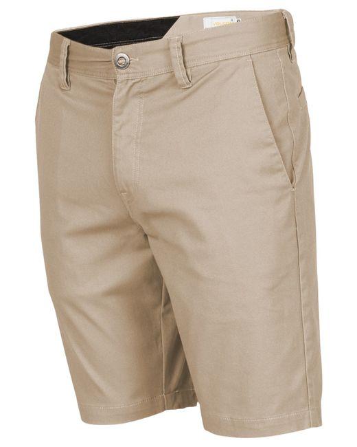 Volcom   Natural Men's Frickin Mod Stretch Shorts for Men   Lyst