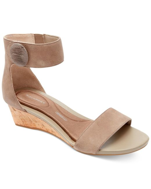 rockport s total motion ankle wedge