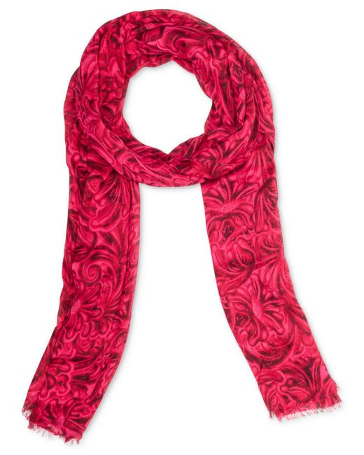 Patricia Nash - Pink Black Tuscan Scarf - Lyst