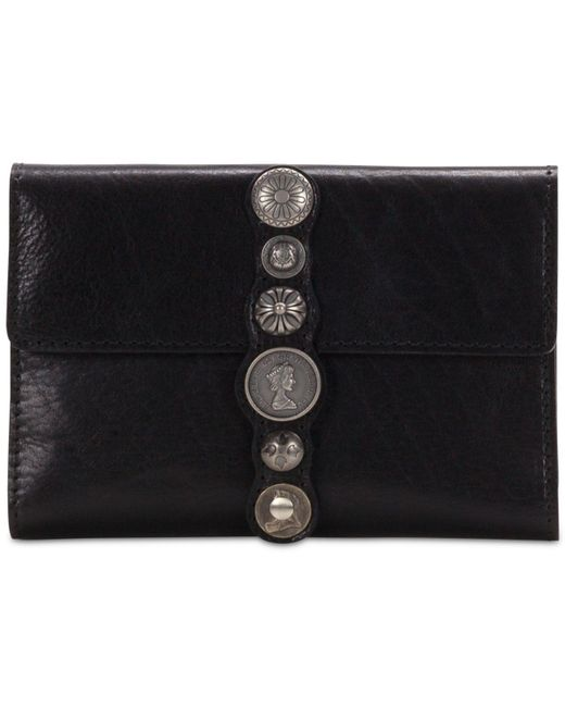 Patricia Nash - Black Studded Hardware Colli Wallet - Lyst