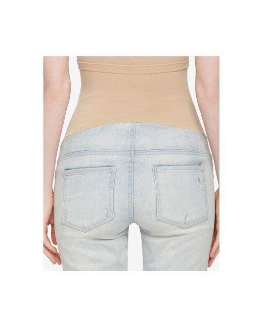 blank maternity light wash skinny jeans in blue light. Black Bedroom Furniture Sets. Home Design Ideas