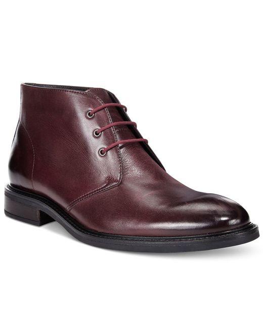 alfani s lombard plain toe chukka boots only at macy