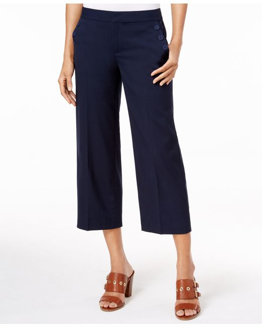 Cool Tommy Hilfiger Women39s Capri Pant With Drawtie And Chambray Trim