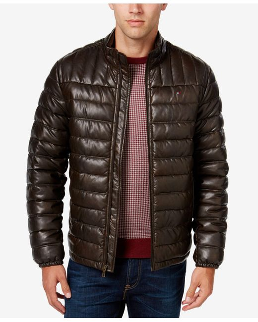 Macys mens leather jackets