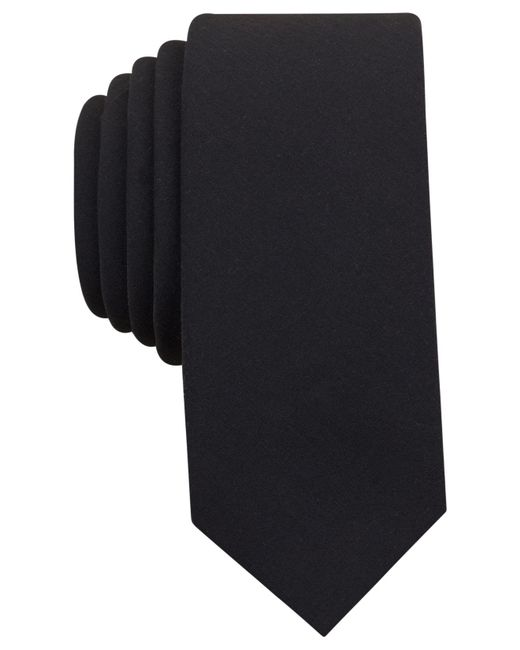 Original Penguin - Black Men's Village Solid Slim Tie for Men - Lyst