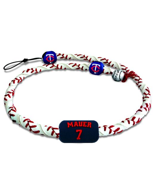 Game Wear - Multicolor Minnesota Twins Joe Mauer Frozen Rope Necklace for Men - Lyst